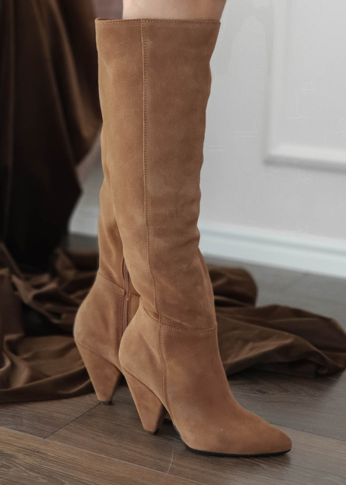 Leather boots - Brown