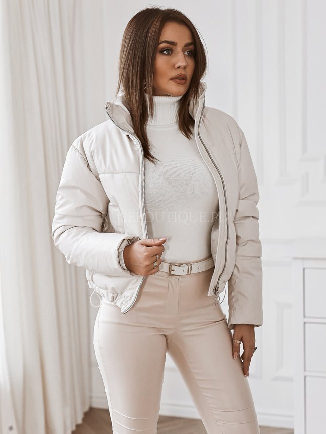Short jacket - Light beige